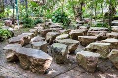 Lapidi il giardino Immagini Stock Libere da Diritti