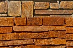 Lapidi il muro di mattoni I Fotografia Stock