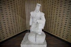 Lapidi la statua Fotografia Stock