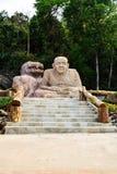 Lapidi le sculture Fotografia Stock