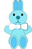 Lapin bleu Photo stock
