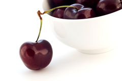 Lapin cherries Stock Photos