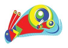 Lapin décoratif enceinte Image stock