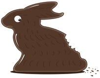 Lapin de chocolat illustration stock