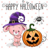 Lapin de Halloween illustration de vecteur