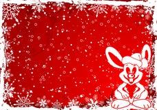 Lapin de Noël illustration libre de droits