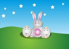 Lapin de Pâques Images libres de droits