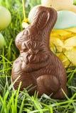 Lapin de Pâques de fête de chocolat photos libres de droits