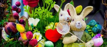 Lapin de Pâques de fond Images stock