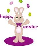 Lapin de Pâques heureux photographie stock libre de droits