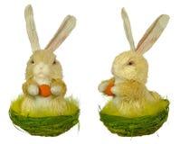Lapin de Pâques (lièvres) photo stock