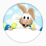 Lapin de Pâques mignon Photo stock