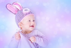 Lapin de Pâques mignon photo libre de droits