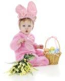 Lapin de Pâques siffleur Photo stock