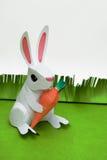 Lapin de papier de Pâques Photographie stock libre de droits