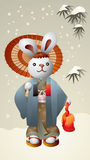 Lapin du Japon Photo stock