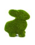 Lapin fait en herbe Image stock