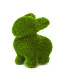 Lapin fait en herbe Images stock