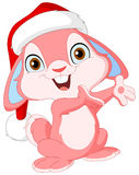 Lapin mignon de Noël