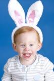 lapin Pâques de garçon Photo stock