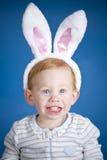 lapin Pâques de garçon Image stock