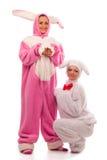 Lapins ayant l'amusement Image libre de droits