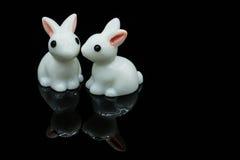 Lapins blancs Photo stock