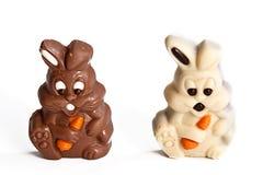 Lapins de chocolat photographie stock libre de droits