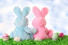 Lapins de Pâques Photo stock