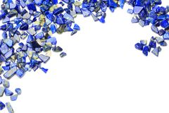 Lapis lazuli Image libre de droits