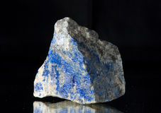 Lapis lazuli Royalty-vrije Stock Afbeeldingen