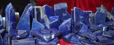 Lapis lazuli Photo libre de droits