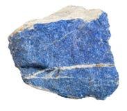 Lapis lazuli ruwe halfedelsteen Royalty-vrije Stock Fotografie