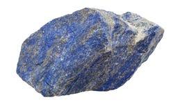 Lapis lazuli ruwe halfedelsteen Royalty-vrije Stock Foto's