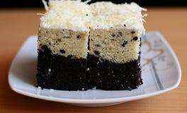 Bogor Layered Taro Cake Stock Photos