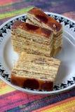 Lapislazzuli di Kek, dessert malese Fotografia Stock Libera da Diritti