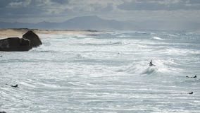 Lapiste dos surfistas @ Foto de Stock Royalty Free