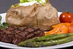 Lapje vlees 003 van het haasbiefstuk Royalty-vrije Stock Fotografie