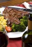 Lapje vlees 004 van Porterhouse Royalty-vrije Stock Afbeeldingen