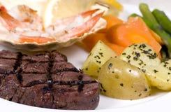 Lapje vlees 005 van het haasbiefstuk Royalty-vrije Stock Fotografie