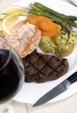 Lapje vlees 007 van het haasbiefstuk Royalty-vrije Stock Foto