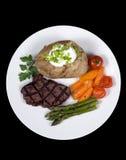 Lapje vlees 008 van het haasbiefstuk Stock Foto's