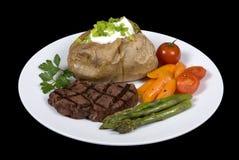 Lapje vlees 010 van het haasbiefstuk Royalty-vrije Stock Foto's