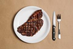 Lapje vlees stock foto's
