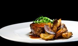 Lapje vlees 3 van het rundvlees Royalty-vrije Stock Afbeeldingen