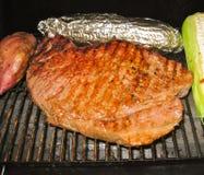 Lapje vlees op Barbie Stock Foto's