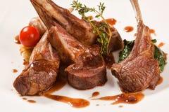 Lapje vlees van lam Stock Foto