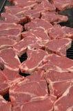 Lapjes vlees 1 Stock Afbeelding