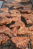 Lapjes vlees 2 Stock Foto