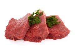 Lapjes vlees Stock Foto's